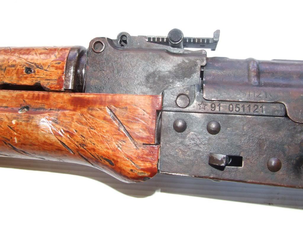 AKS- 74 bem usada.... DSCF4782