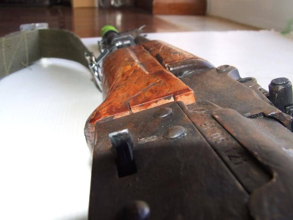 AKS- 74 bem usada.... DSCF4783