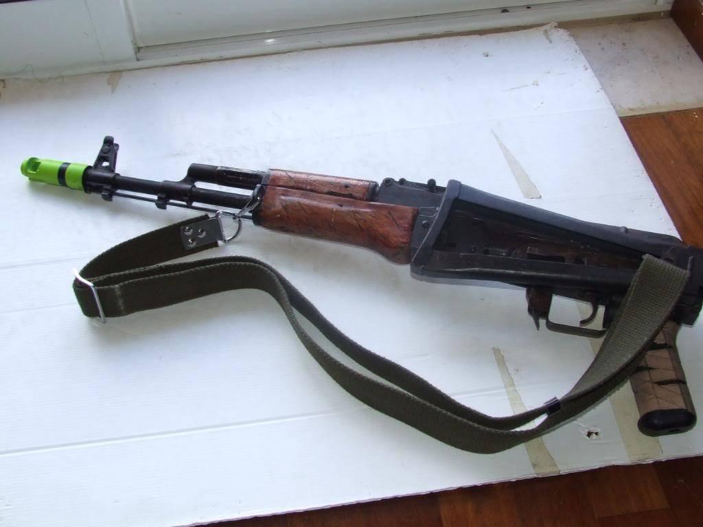 AKS- 74 bem usada.... DSCF4786