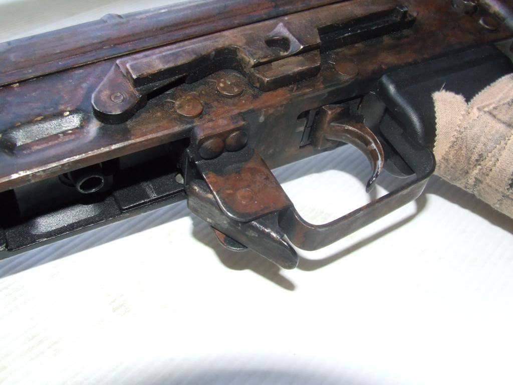 AKS- 74 bem usada.... DSCF4788