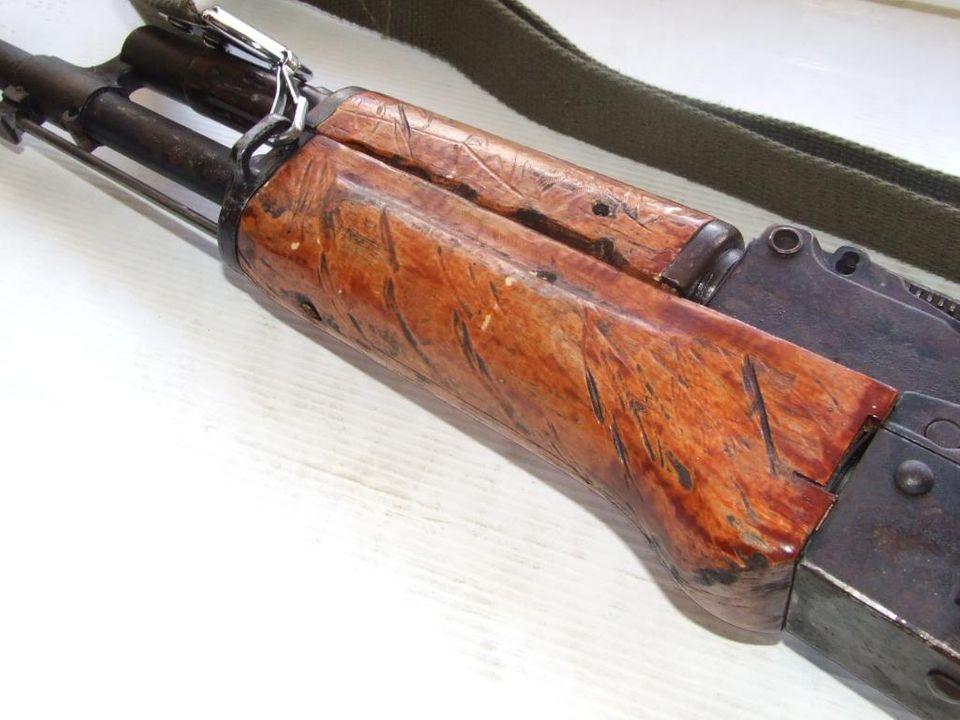 AKS- 74 bem usada.... DSCF4789