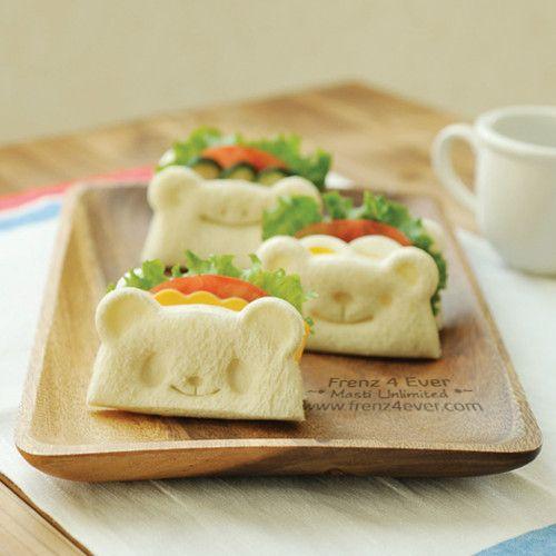 Cute Teddy-Bear Toast