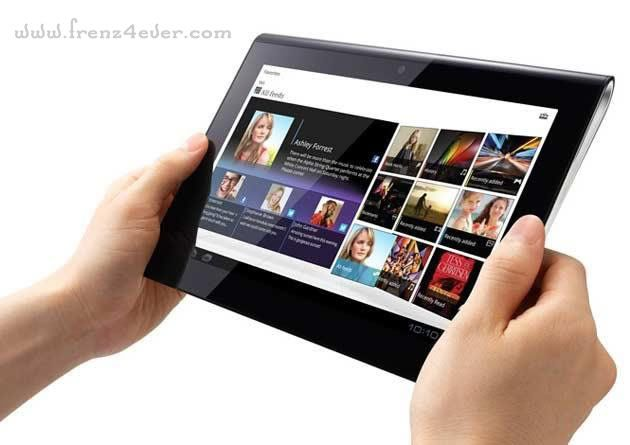 Sony unveils its first tablets S1 and S2 Sony-4