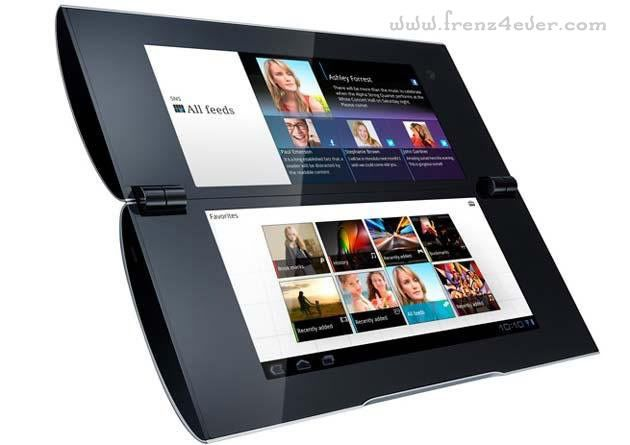 Sony unveils its first tablets S1 and S2 Sony-5