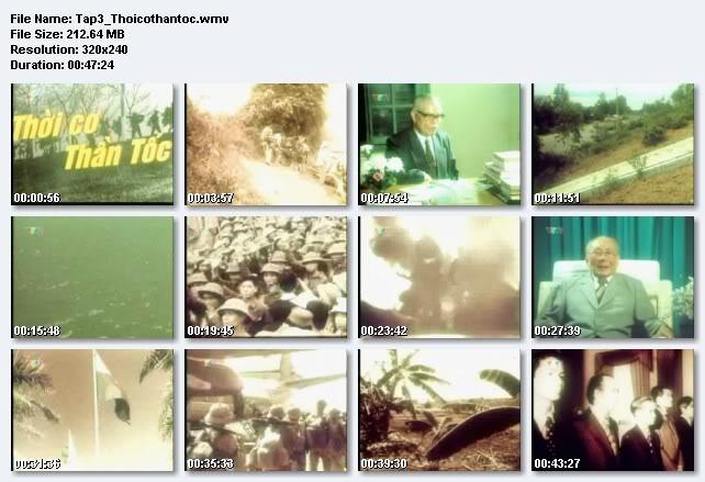 Phim tài liệu lịch sử Việt Nam TAP3