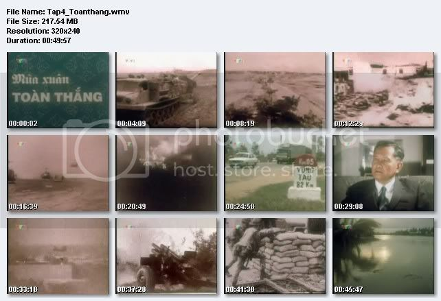 Phim tài liệu lịch sử Việt Nam TapIV