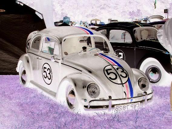 My new 66 (Herbie) BlackNegative