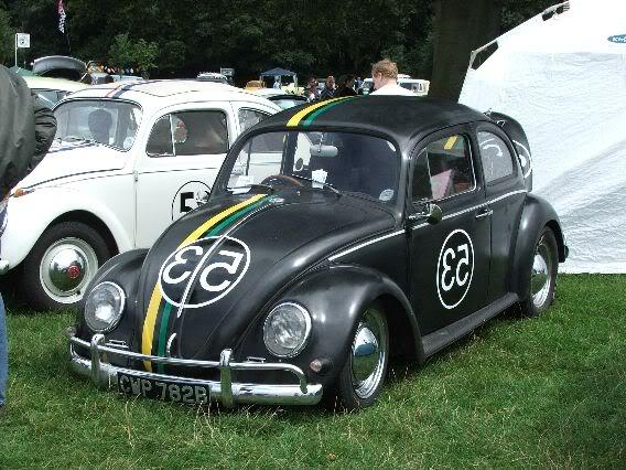 My new 66 (Herbie) BlackPosative