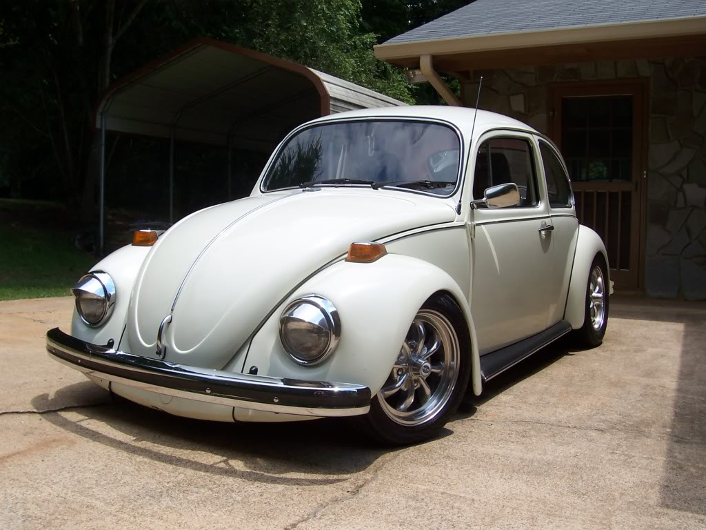 1970 Beetle Restoration Project- First Timer Pearl6-3-08001
