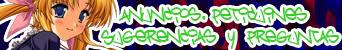 """<font color=""""darkorange"""">Anuncios, Peticiones, Sugerencias, Preguntas?"""
