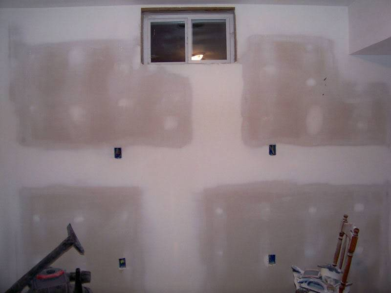 The Fish Room (Round 2) Drywalldone2