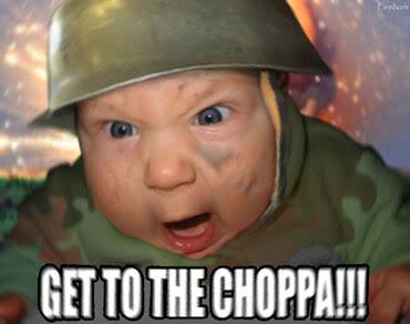 I need my clan! Choppa