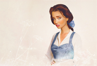 Fanarts  Jirka-vtinen-real-life-disney-characters-belle