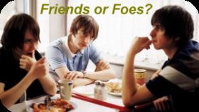 Friends or Foes feature. Friendsorfoes