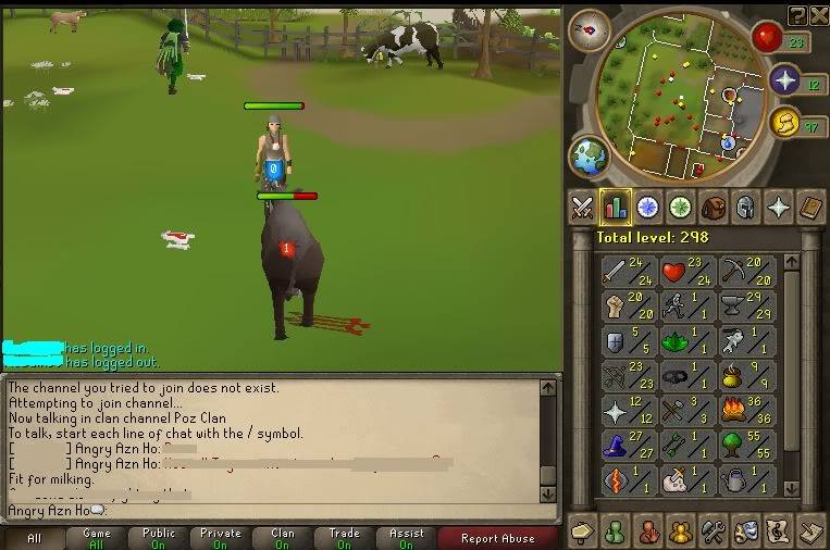 my runescape pure check in weekly Week