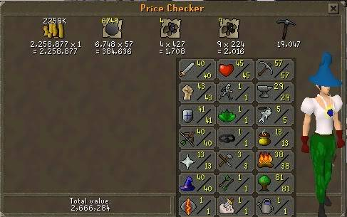 my runescape pure check in weekly Week6