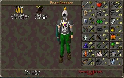 my runescape pure check in weekly Week9