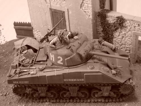 SHERMAN EN NORMANDIE 54