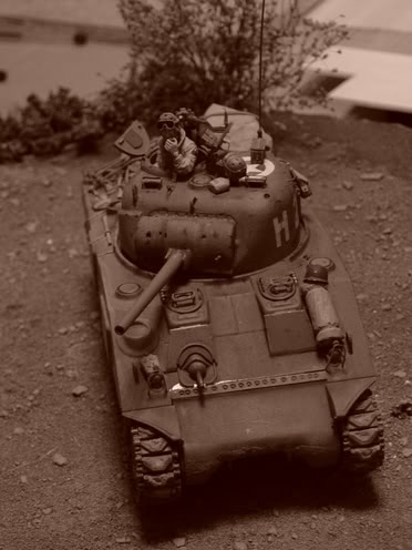 SHERMAN EN NORMANDIE 55