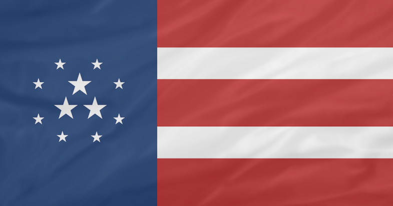 North American Confederation (P&W) Charter NACflag