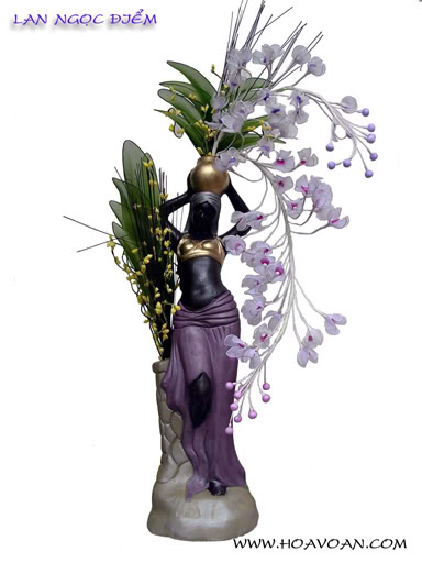 Cách làm hoa voan HV1035-1