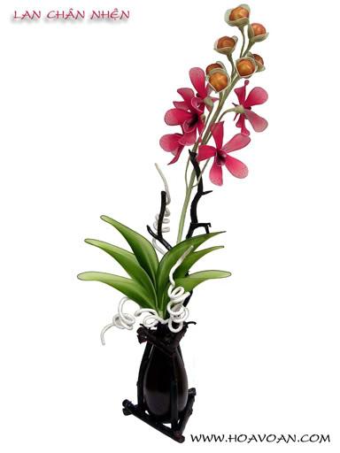 Cách làm hoa voan HV1041-1