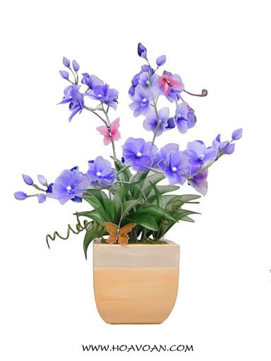 Cách làm hoa voan HV1065-1