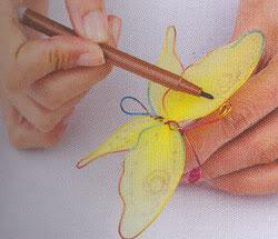 Cách làm hoa voan Decor