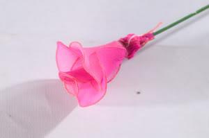 Cách làm hoa voan H1