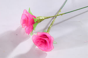 Cách làm hoa voan H2