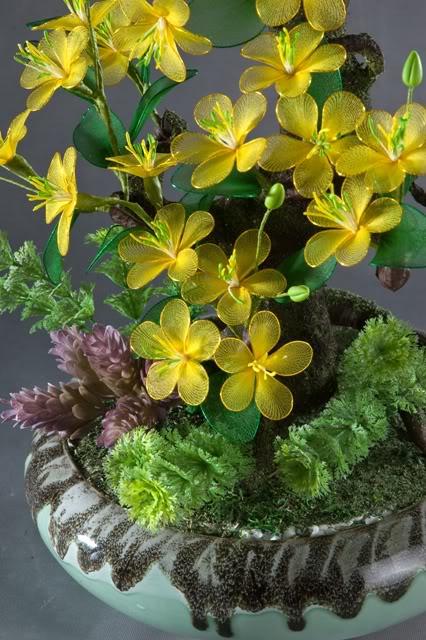 Cách làm hoa voan Mai4