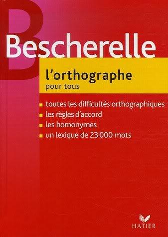 3 كتب للغة الفرنسية رائعة و نادرة من Bescherelle - صفحة 2 Orthographe