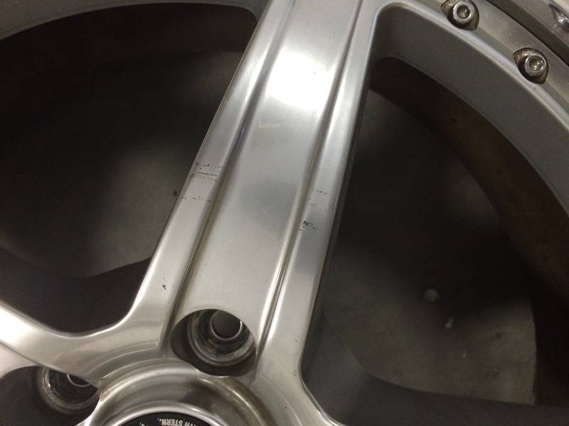 "(rare)JDM Stern wheels (3pc) 18"" 7.5+48/8.5+48 5x114.3 (no tires) 4E776CAC-3687-4848-9528-96FEA99FAE39"