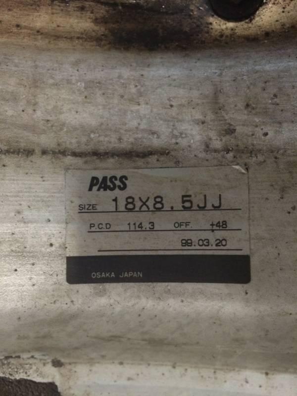 """(rare)JDM Stern wheels (3pc) 18"""" 7.5+48/8.5+48 5x114.3 (no tires) D655704a-a1e9-4039-b493-6dd644da46dc"""