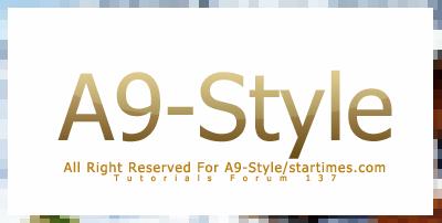 PhotoShop CS4 | شرح صنع اطار على الصور  A9-Style-18