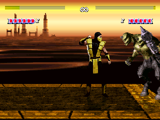 Screenshots (MK vs KI) Mugen11