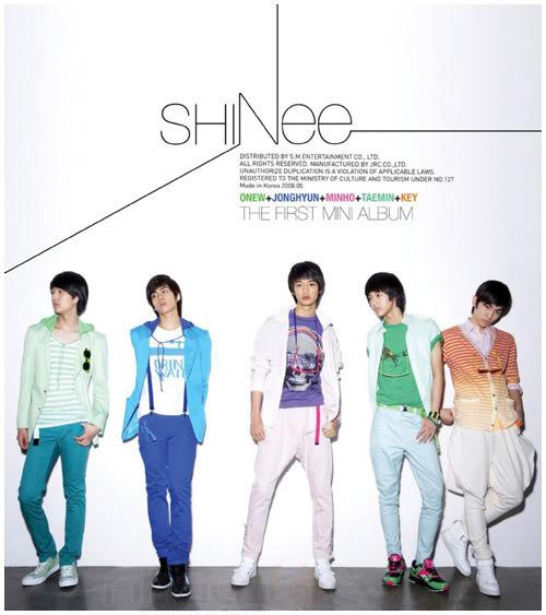SHINee (샤이니) Shinee-frist_mini_album-cover