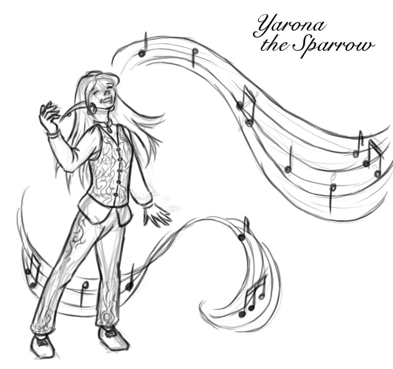 WoW-art (and any other artsy stuff) - Page 4 Sketch-Yarona