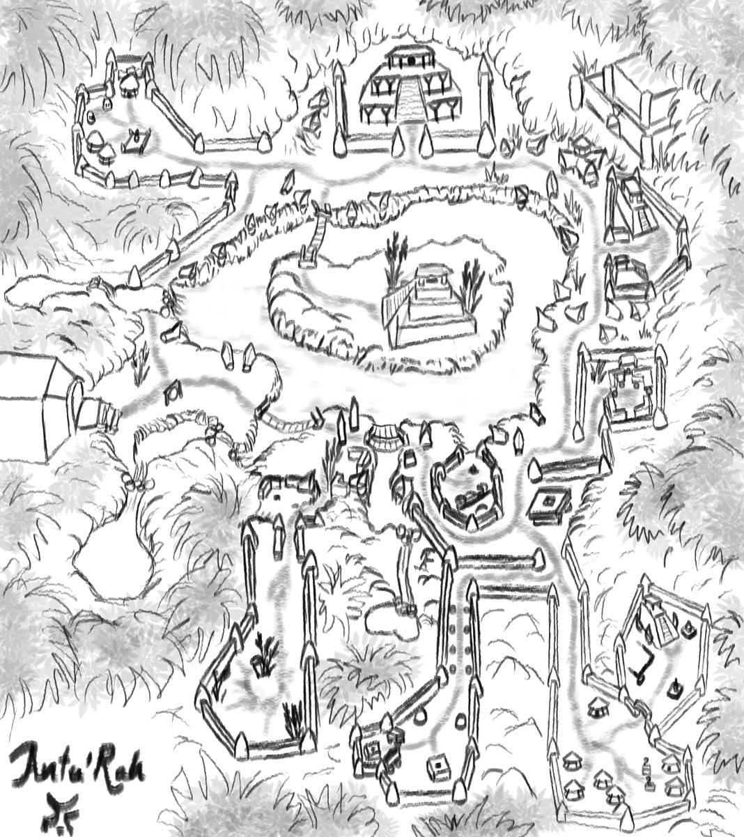 The Hidden Valley Valleymap