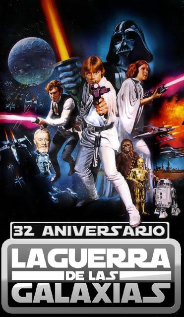 Camiseta 32 aniversario de La Guerra de las Galaxias Tshirt32bG