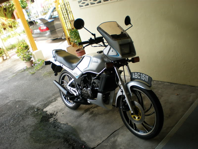 Yamaha RD125 LC from Teluk Ensen P5103070