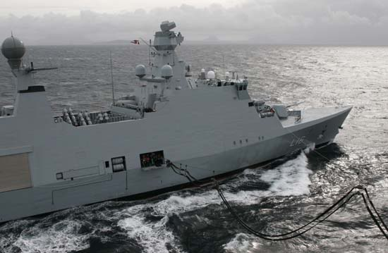 FLEXIBLE SUPPORT SHIP CLASSE ABSALON A18