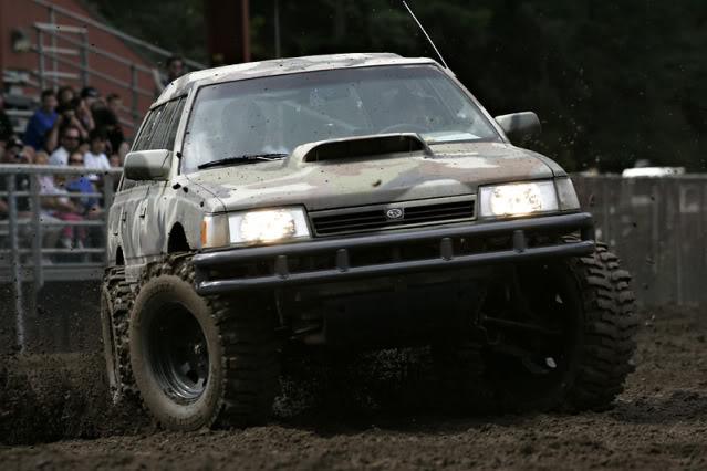 Off Road Subarus! CamoSubaru