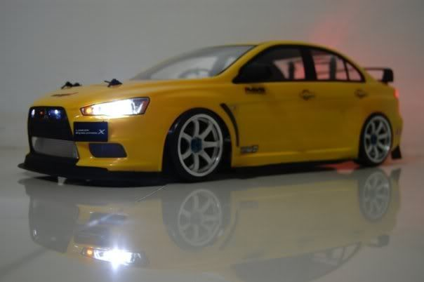 my evo x (YELLOw) Evox