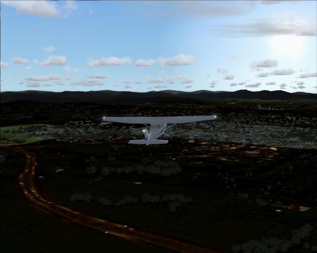 (FS2004) Imagens do VOZ 1.8 Canberra
