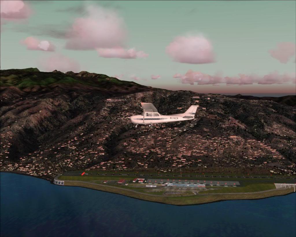 (FS2004) Imagens do VOZ 1.8 Madeira