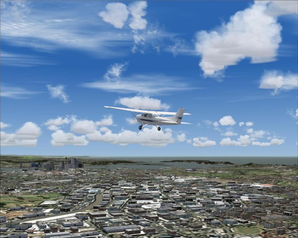 (FS2004) Imagens do VOZ 1.8 Sydney