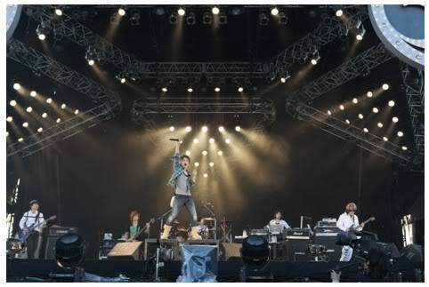 Un par de fotos del Inazuma Rock fes 2009!!! UVERinazumarockfes