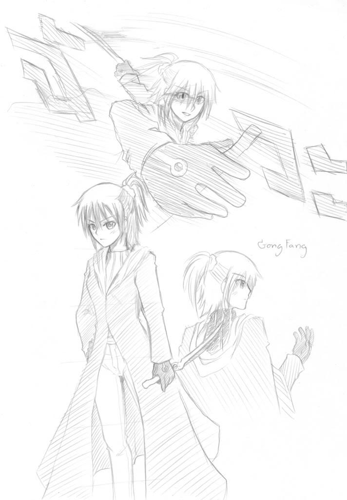 [MyImagination] BlackHalloween - ขึ้นหน้า 10 ..... ฝึกวาดซะ ฝึกไปเรื่อยๆ ( หน้า 10 ) GongFang