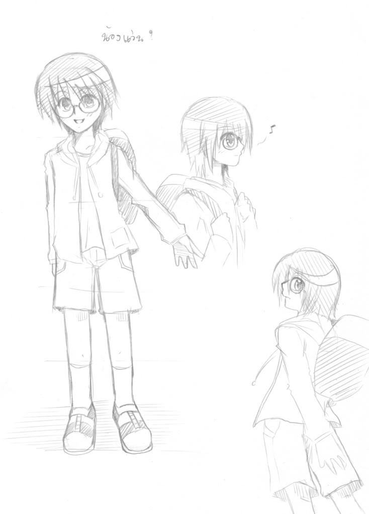 [MyImagination] BlackHalloween - ขึ้นหน้า 10 ..... ฝึกวาดซะ ฝึกไปเรื่อยๆ ( หน้า 10 ) NongWan